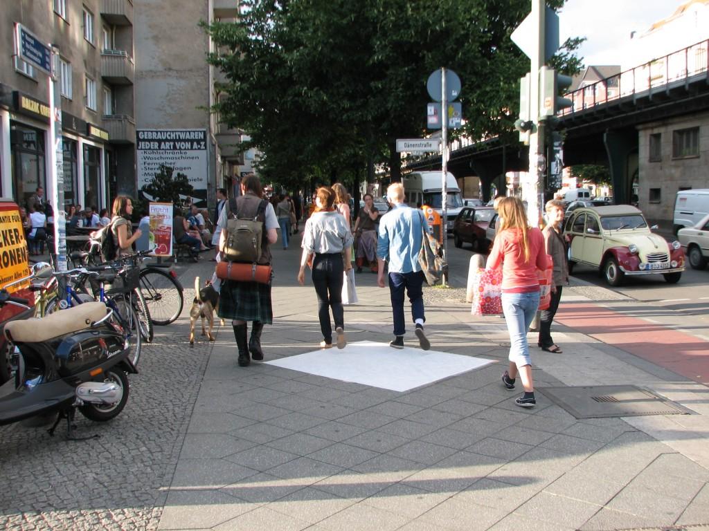 STREET ART CLAUDIO AREZZO DI TRIFILETTI 2008 IMPRINTS BERLIN