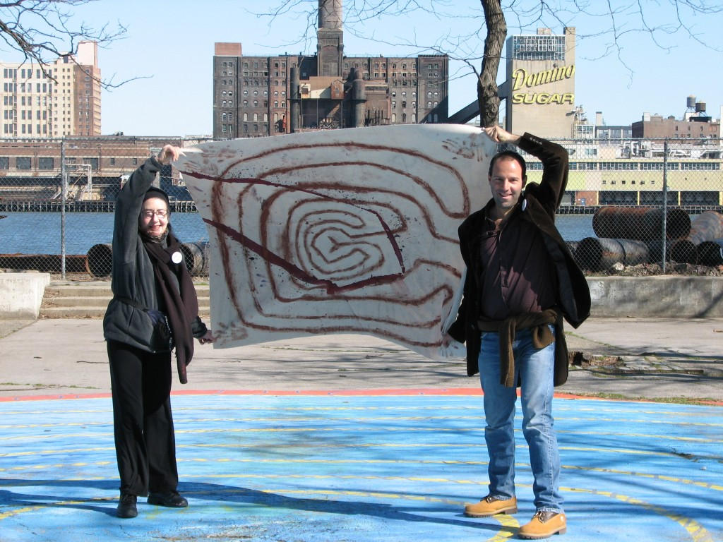 STREET ART CLAUDIO AREZZO DI TRIFILETTI 2007 IMPRINTS NEW YORK