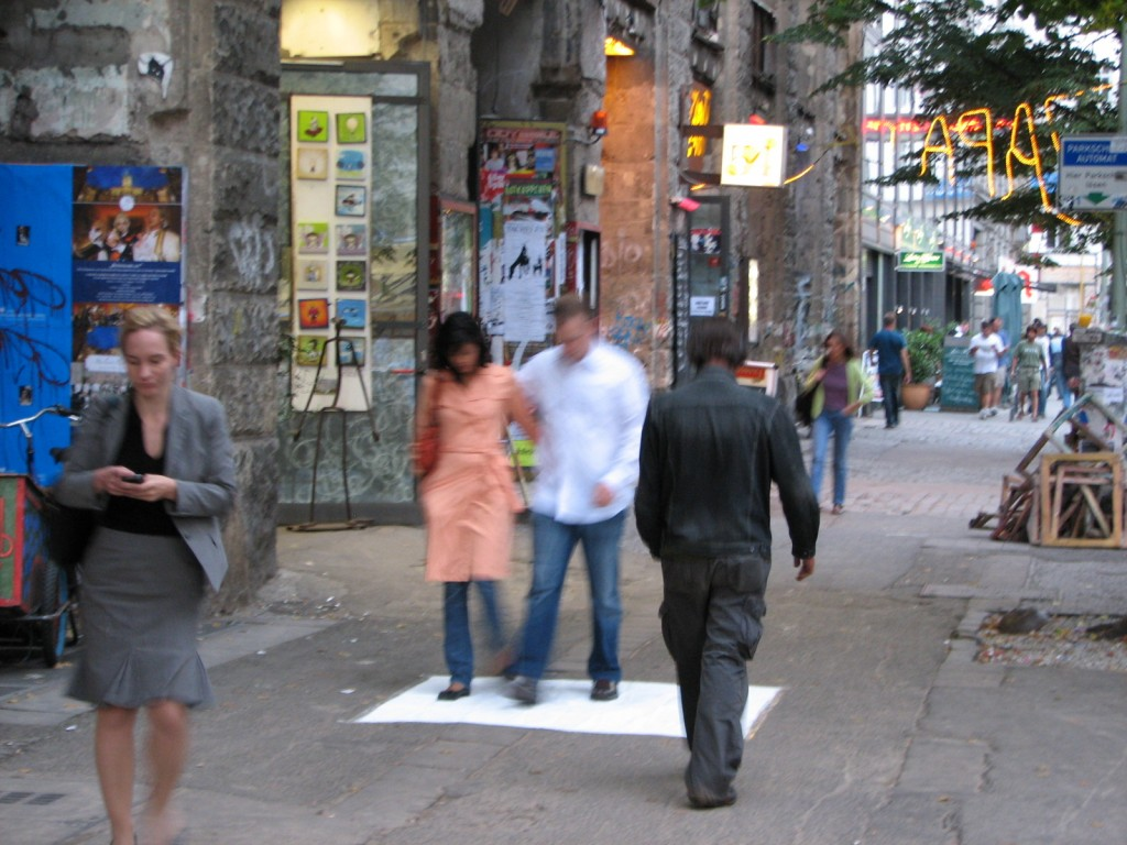 KUNSTHAUS TACHELES - IMPRINTS BERLIN 2008 CLAUDIO AREZZO DI TRIFILETTI