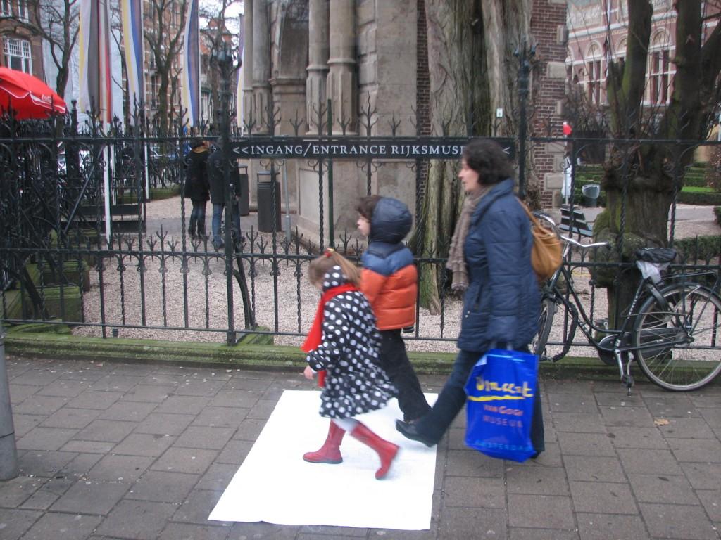 STREET ART CLAUDIO AREZZO DI TRIFILETTI IMPRINTS AMSTERDAM 2010