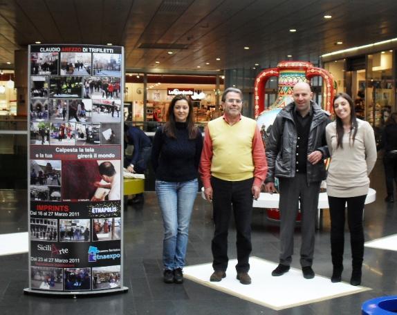 STREET ART CLAUDIO AREZZO DI TRIFILETTI IMPRINTS ETNAPOLIS
