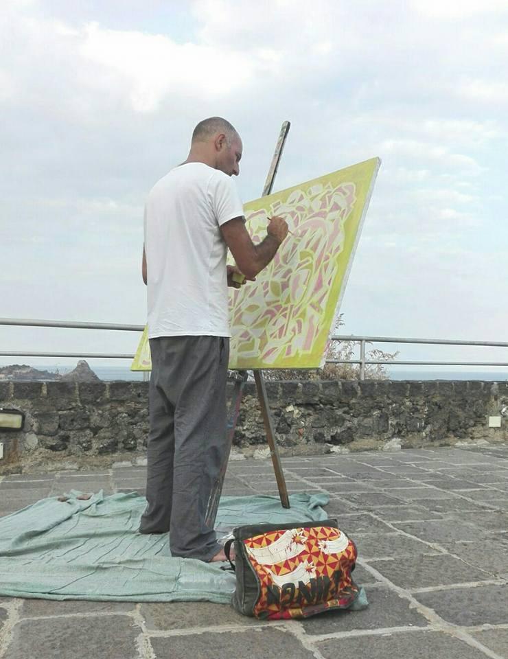 Painting Imprints Catania Piazza Carlo Alberto